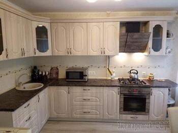 Кухня: отечественная техника, отечественный гарнитур