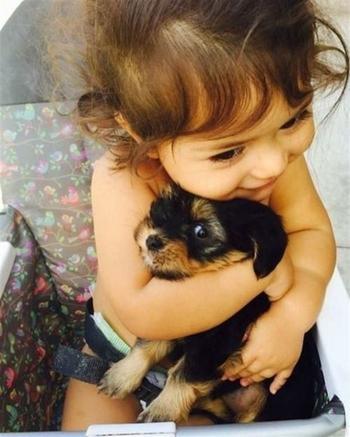 Фотографии детей и животных берущие за душу
