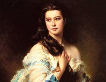Почему дамы выстраивались в очередь к самому популярному портретисту XIX века: Франц Великолепный