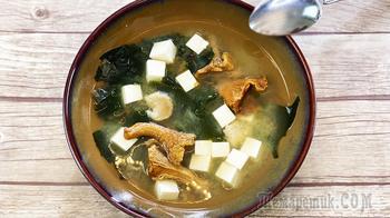 Мисо суп - японская кухня