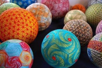 Как сделать японский шар темари своими руками