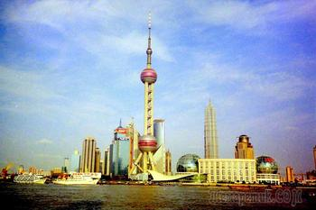 Сказка, названа Китай. Шанхай