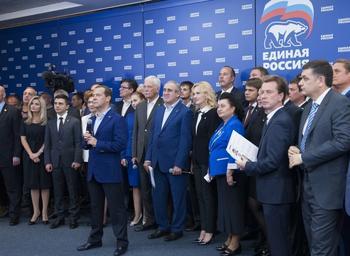 В ЕР заявили об уверенной победе своих кандидатов на выборах губернаторов