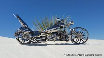 Невероятные мотоциклы из ложек