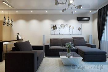 Дизайн панельной трехкомнатной квартиры 70 кв. м.