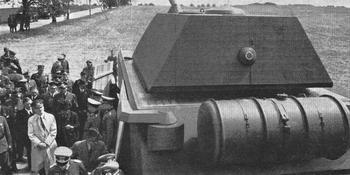 Немецкий танк «Маус»- самый большой из реально построенных в мировой истории