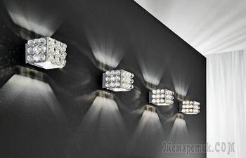 Уникальные светодиодные светильники, которые преобразят любой интерьер