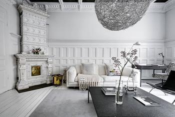Великолепная скандинавская классика: апартаменты в Стокгольме