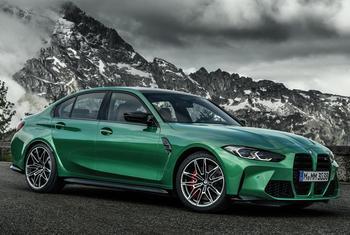 BMW M3 2021: яркий спортивный седан с налетом немецкой брутальности