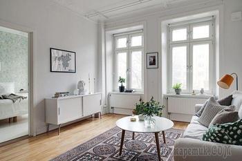 Стильная квартира в Швеции