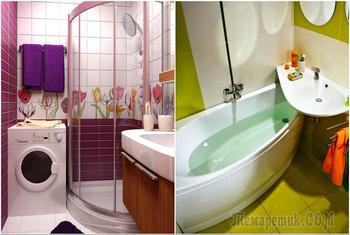 17 идей, которые помогут выжать максимум из ванных комнат размером с каморку