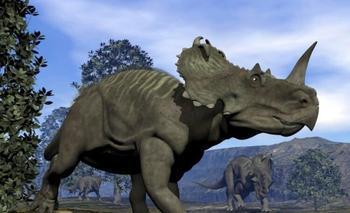 Палеонтологи нашли останки динозавра, умершего от рака