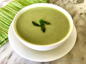 Суп со спаржей