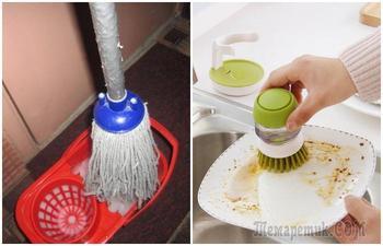 5 раскрученных приспособлений для уборки, от которых больше мороки, чем пользы