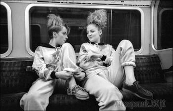 «Вниз по трубе» Пола Бальдесаре. Многообразие пассажиров лондонского метро в 1980-90-е годы
