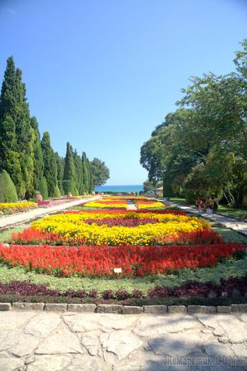 Болгарское побережье Черного моря 9. Балчик. Ботанический сад при Дворце