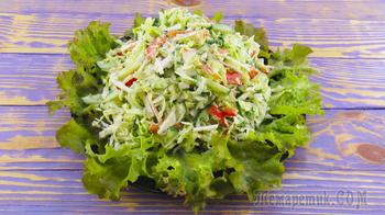 Салат из капусты за считаные минуты!