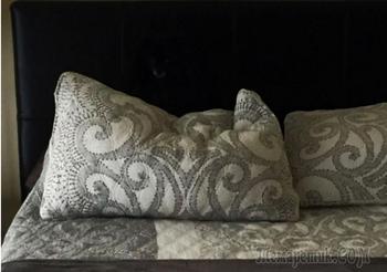 Фотозагадка дня: найдите собаку, притаившуюся на кровати