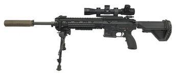 Снайперская винтовка M38 SDMR Squad Designated Marksman Rifle (США)