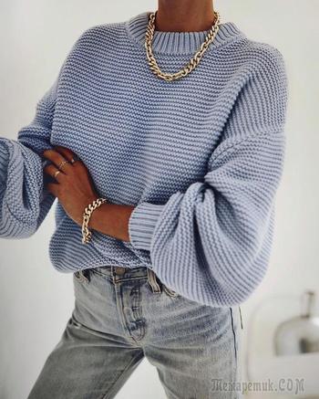 Джинсы и свитер: 26 невероятно стильных комбинаций на 2021 год