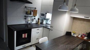 """Моя кухня: ремонт с """"ИКЕА"""" для лентяев и кота"""