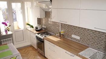 Кухня: мамин кабинет в скандинавском стиле