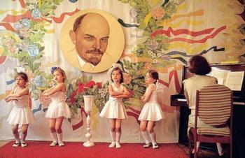 Как нас угощали пирожными на столетие Ленина