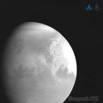Первый китайский космический корабль вышел на орбиту Марса