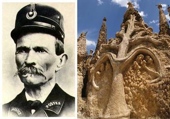 Как французский почтальон в одиночку построил дворец: Фердинанд Шеваль и его мечта
