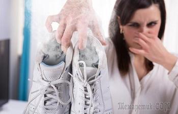 12 советов, как устранить неприятный запах в кроссовках