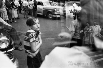 Луи Фаурер – лирик с фотокамерой на улицах Нью-Йорка