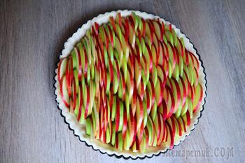Яблочно-грушевый пирог. Много начинки!