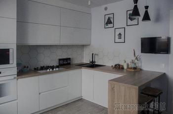 «Белый цвет — лучший выбор для хозяек». Моя кухня