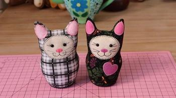 Котики-матрёшки