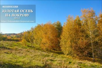 Фотопрогулки.  Золотая осень на Покрову    часть  1