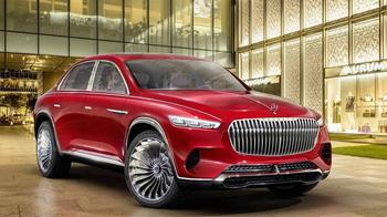 Vision Mercedes-Maybach Ultimate Luxury 2018 – предвестник шикарного кроссовера Mercedes-Maybach GLS