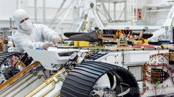 Винтокрылый дрон смонтирован на ровер Mars 2020 НАСА