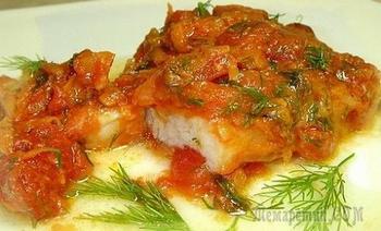 Рыба под маринадом. Рецепт приготовления