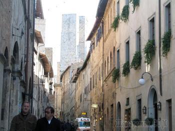 Италия. Тоскана. San Gimignano