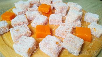 Потрясающе вкусный десерт из тыквы! Приготовила три порции подряд!