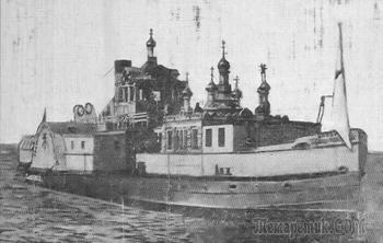 Зачем построили единственный в России плавучий храм и что в нём происходило в начале XX века