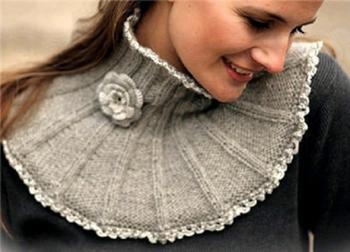 Вязание манишки спицами: схемы с описанием