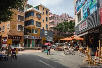 Китайская деревня художников Дафен