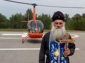 В небе над Алтаем провели воздушный крестный ход