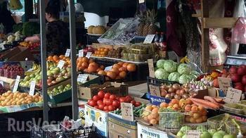 Украинцы начали покупать продукты поштучно (ВИДЕО)
