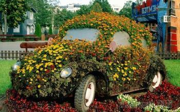 20 замечательных оригинальных цветников, которые украсят любой загородный участок