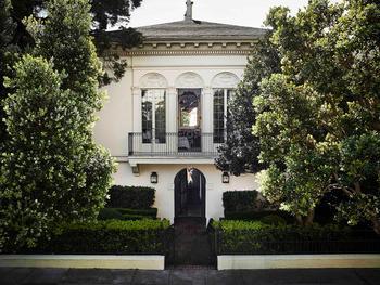 Дизайн как искусство: великолепная историческая резиденция в Сан-Франциско