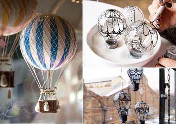 Воздушные шары в интерьере: 10 сказочных самодельных аксессуаров