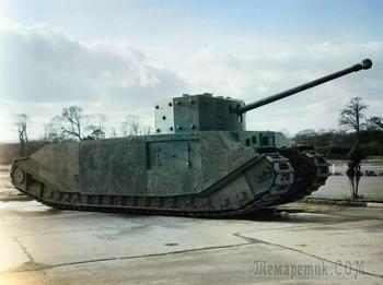 10 редких танков Великобритании, которые не пошли в серию