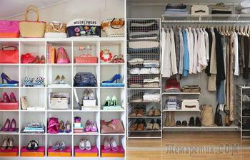 Как организовать хранение вещей в доме, чтобы каждой мелочи нашлось свое место
